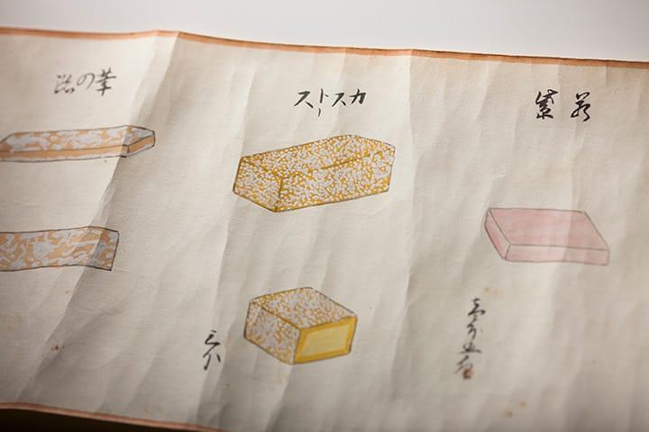 百菓之図とカスドース